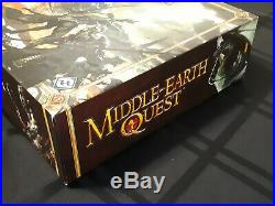 Middle-Earth Quest Board Game Fantasy Flight Games Lord of the Rings UNPUNCHED