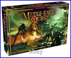 Middle-Earth Quest Board Game Fantasy Flight Rare 2009 Lord of the Rings