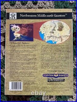 Middle Earth RPG Campaign Atlas NE Middle-Earth Gazetteer 4002