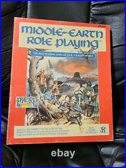 Middle-Earth Role Playing system box set ICE #8100 Tolkien RPG Free Shipp Comp