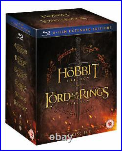 Middle Earth Six Film Collection Extended Edition (Blu-ray) Ian McKellen