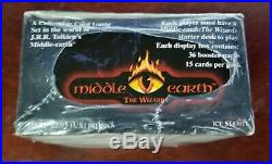 Middle Earth The Wizards Limited Edition Booster Box Sealed