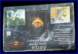 Middle Earth The Wizards Unlimited MECCG Booster Pack Box Factory Sealed