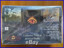 Middle Earth The Wizards Unlimited, booster box factory sealed