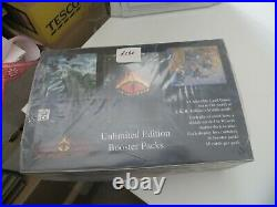 Middle Earth the Wizards Booster Pack box sealed UNLIMITED EDITION