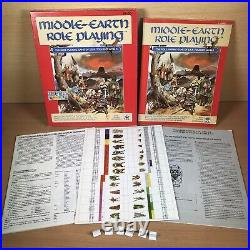 Middle-earth Role Playing MERP Lord of the Rings Hobbit I. C. E RPG Unplayed 1986