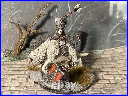 Middle-earth the Hobbit Sbg Armoured Azog Mounted On White Warg Conversion