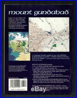 Mount Gundabad, Middle Earth MERP 3110 High Quality Condition, Great MegaExtras
