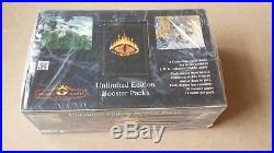 NEW Middle Earth MERP CCG The Wizards Unlimited BOOSTER BOX