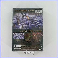 NEW The Lord of the Rings Battle for Middle-Earth II 2 Complete LOTR PC SEALED