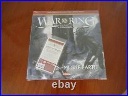 NEW UNOPENED War of the Ring Warriors of Middle Earth with Tidings Not Burdens