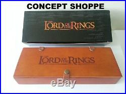 NIB VHTF Lord of The Rings Middle Earth Limited Edition Fossil Watch