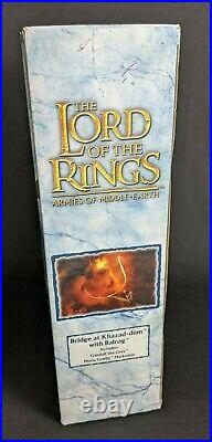 New! BRIDGE AT KHAZAD-DUM WITH BALROG Lord of the Rings Armies of Middle-Earth