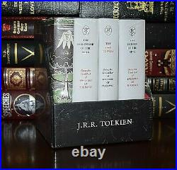 New Hobbit Lord of the Rings Middle-Earth Treasury by Tolkien Box Hardcover Gift