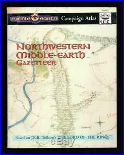 Northwestern Middle-earth Gazetteer w\Map, MERP #4002, Awesome MegaExtras