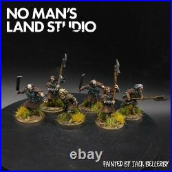 Pro Painted Lotr wildmen of dunland ×6 Warhammer middle earth lord of the rings