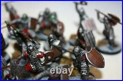 Pro Painted Morannon Black Gate Orc Army Moria Lord Of Rings Middle Earth
