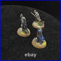Pro Painted Warhammer Lotr dead Spectres ×3 (metal) middle earth games workshop