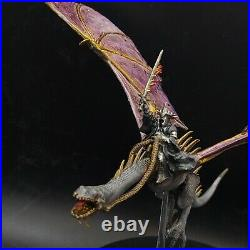 Pro painted 28mm LoTr Witch king on fell beast warhammer middle earth GW