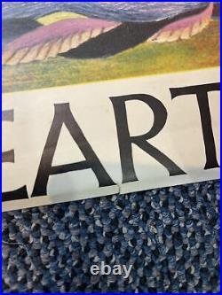 RARE Barbara Remington Poster Original Vintage Come To Middle Earth Ballantine