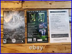 RARE Lord Of The Rings Battle for Middle-Earth Anthology PC Complete