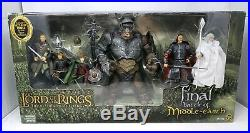 RB. ATTACK TROLL in FINAL BATTLE of Middle-Earth 6 Fig Lord Rings LOTR SEALED