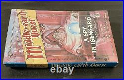 Rare 1988 Lotr Middle Earth Quest A Spy In Isengard Game Book Merp First Edition