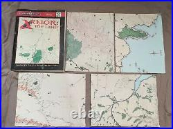 Rare Arnor The Land 2023 1997 Tolkien Lotr Hobbit Middle Earth Ccg With Map Vgc