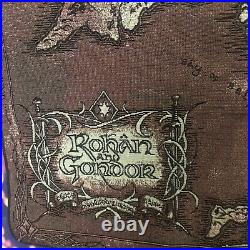 Rare Rohan Gondor Tolkien Middle Earth Wall Hanging Tapestry Lord Of The Rings