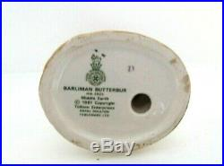Rare Royal Doulton Lord Of The Rings Barliman Butterbur Hn2823 Perfect