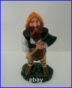 Rare Royal Doulton Lord Of The Rings Figurine Gimli Hn 2922 Perfect