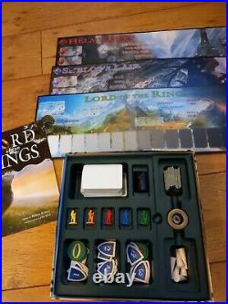 Reiner Knizia Board Games Lord Of The Rings The Hobbit & Expansion JRR Tolkien