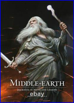 SIGNED Middle-Earth by Donato Giancola 1st Edition 1st Printing Tolkien