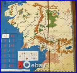 SPI Games of MIDDLE EARTH boardgames LOTR War of the Ring Gondor & Sauron