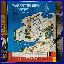 SPI Games of Middle Earth, War of the Ring, Unplayed Unpunched Lord of the Rings