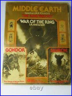 SPI Middle Earth Trilogy Game War of the Ring, Gondor & Sauron Tray LOTR