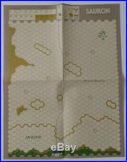 SPI VTG Wargame Middle Earth Trilogy War of the Ring, Gondor & Sauron Box Set