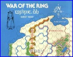 SPI Wargame Middle Earth Trilogy War of the Ring, Gondor & Sauron Fair