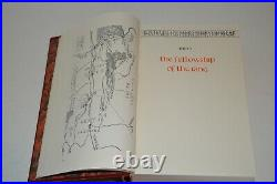 THE LORD OF THE RINGS Collectors Edition J. R. R. Tolkien Leather & Slipcase 1977