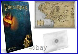 THE LORD OF THE RINGS Middle Earth 35g Silver Foil