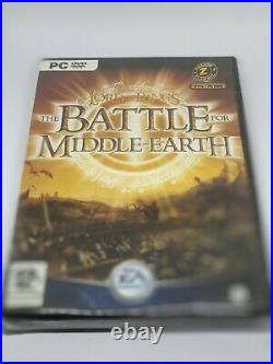 THE LORD OF THE RINGS THE BATTLE FOR MIDDLE EARTH PC-DVD New & Sealed