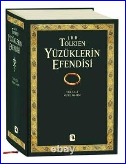 THE LORD OF THE RINGS TRILOGY 2000s VERY RARE Turkish Novel J R R TOLKIEN New