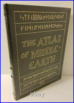The Atlas of Middle Earth K. W. Fonstad, Easton Press, NewithSealed