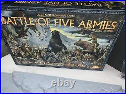 The Great Battles of Middle-Earth BATTLE OF FIVE ARMIES used complete (A2 21)