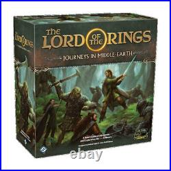 The LOTR Journeys in Middle Earth Board Game FREE Global Shipping