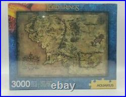 The Lord Of The Rings 3000 Piece Middle Earth Map Jigsaw Puzzle 32 x 45