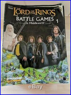 The Lord Of The Rings Battle Games In Middle-Earth Magazine Issues 1-56 C