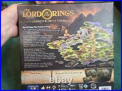 The Lord Of The Rings Journeys In Middle Earth Plus 3 Expansions In Box