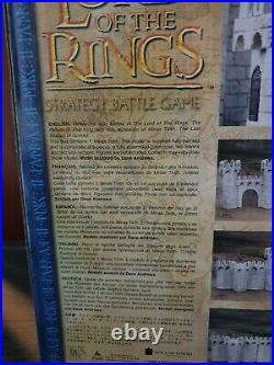 The Lord Of The Rings The Hobbit Middle Earth Warhammer Lotr Minas Tirith Castle