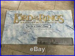 The Lord of the Rings Armies of Middle Earth Battle at Helm's Deep